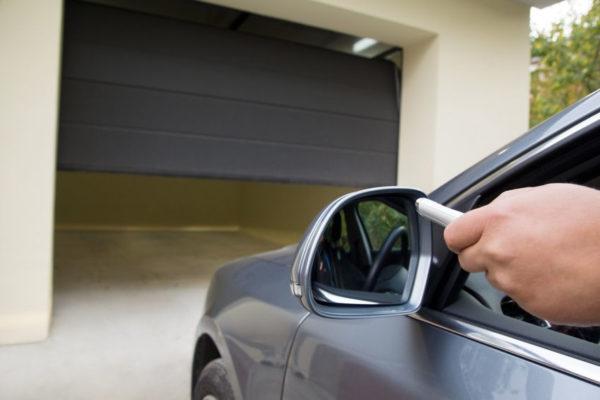 Гаражна врата с дистанционно управление