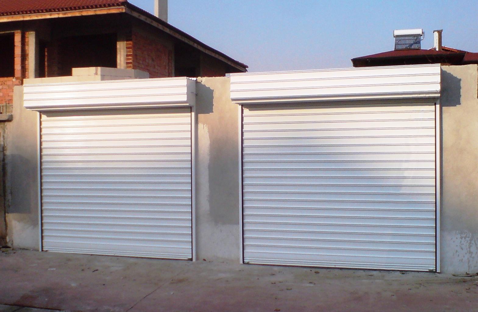 Стоманени ролетни гаражни врати