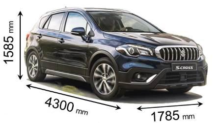 височина на автомобилите