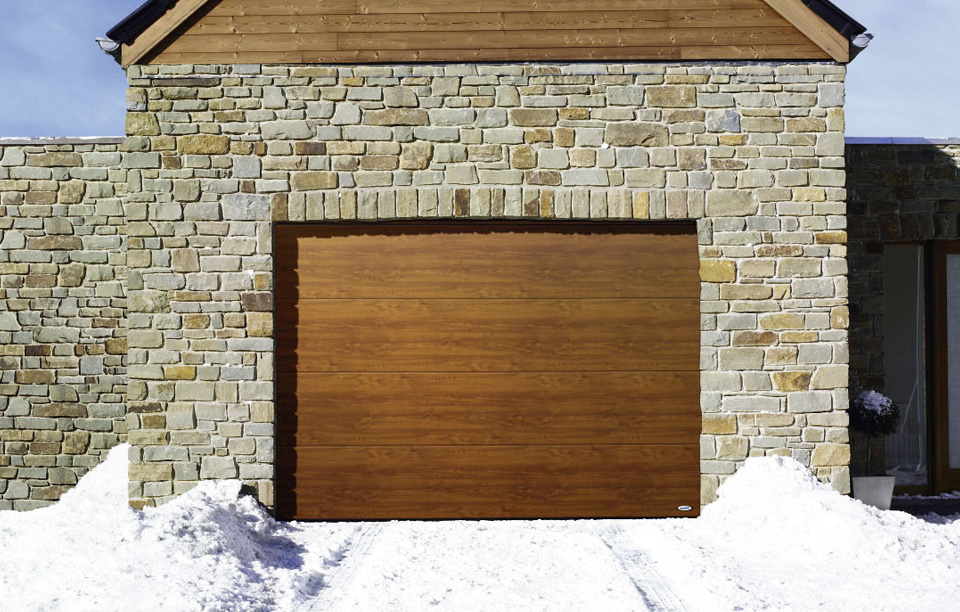 Термоизолиращи секционни гаражни врати