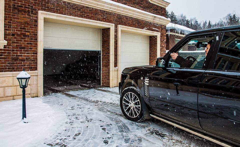 Термоизолирани гаражни врати - секционни